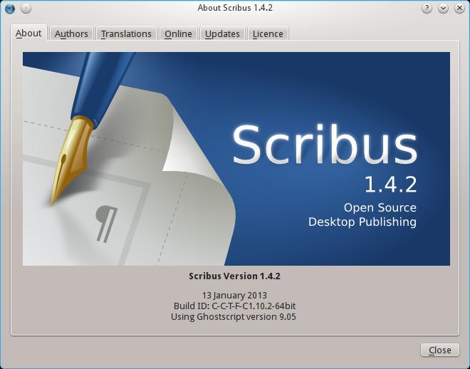 Scribus-1.4.2