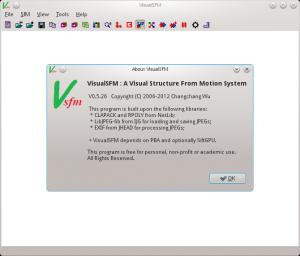 VisualSFM-0.5.26